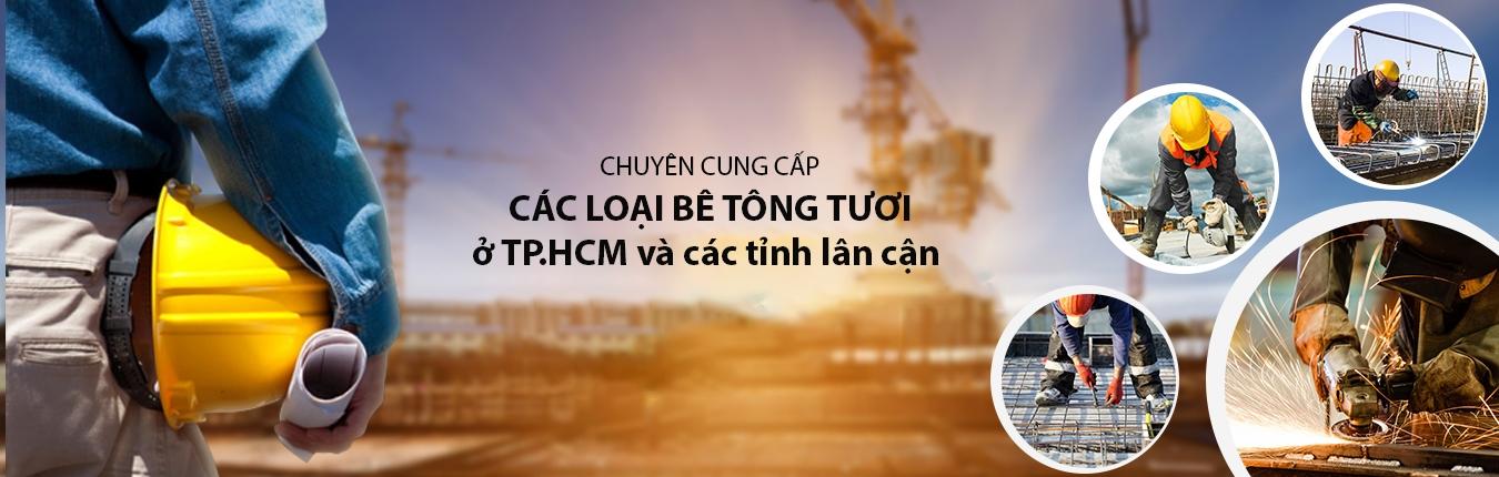 Bê tông tươi TPHCM và các tỉnh lân cận