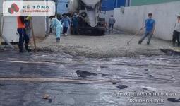 Báo giá bê tông tươi tại KCN Vĩnh Lộc Long An
