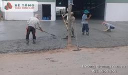 Cung cấp bê tông tươi tại Tân Thạnh Long An