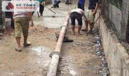 Bê tông tươi tại Xã An Thới Đông Huyện Cần Giờ