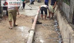 Bê tông tươi tại Xã Thạnh An Huyện Cần Giờ
