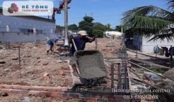 Gía bê tông tươi tại KCN Đất Đỏ, Bà Rịa Vũng Tàu - 0836868268