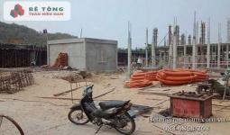 Cung cấp bê tông tươi Tây Ninh tại KCN Gia Bình