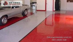 Bảng báo giá thi công sơn epoxy, sơn nền bê tông