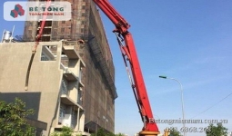 Trạm trộn bê tông tươi tại thị xã Thuận An Bình Dương