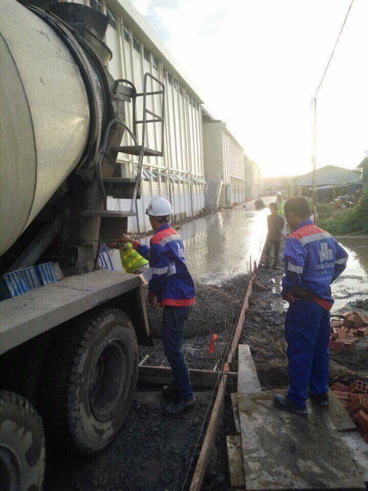 Cung cấp bê tông huyện Bình Chánh TPHCM