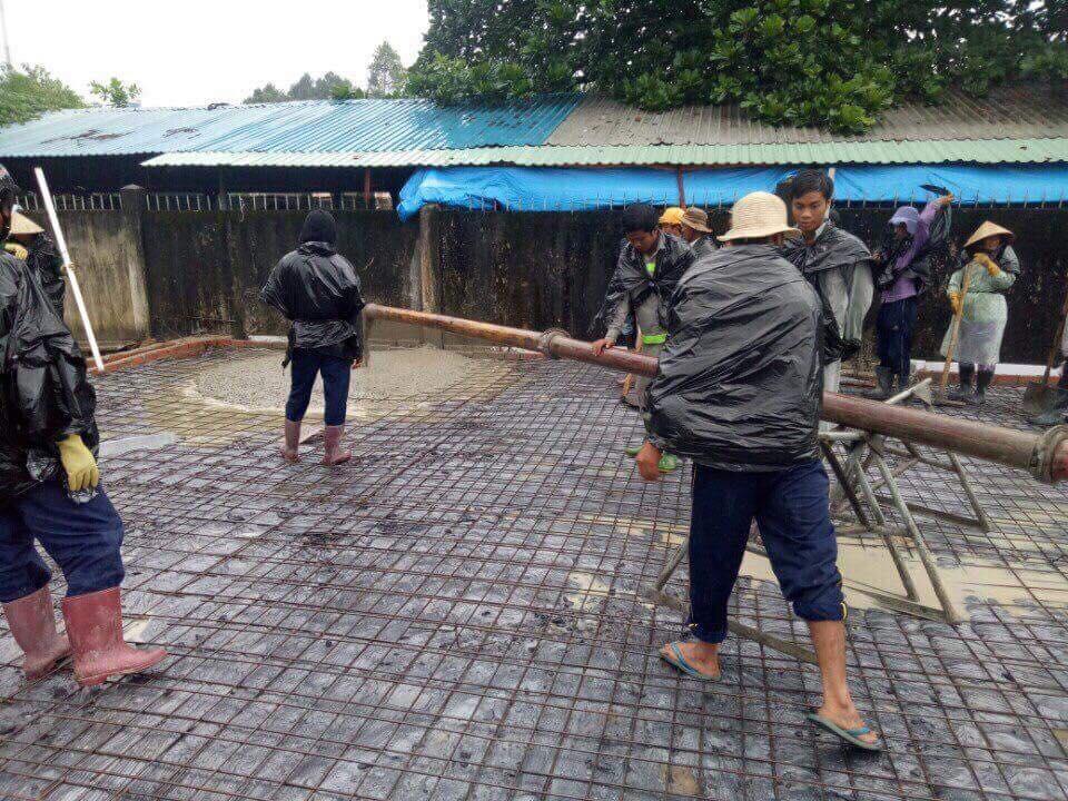 Thi công bê tông huyện Hóc Môn TPHCM