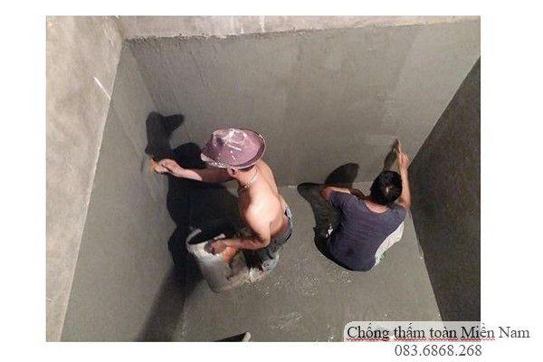 Chống thấm tầng hầm - hố BIT thang máy