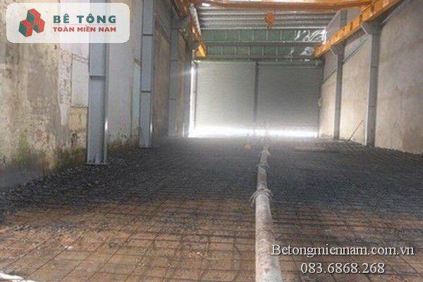 Công trình đổ bê tông ở Đồng Nai