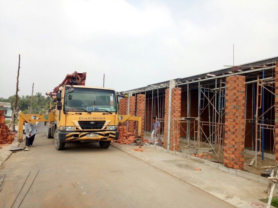 Công trình bê tông quận 2