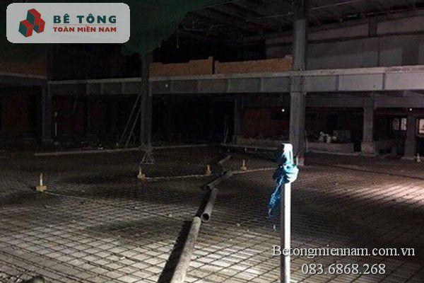 Đổ bê tông ở Đồng Nai