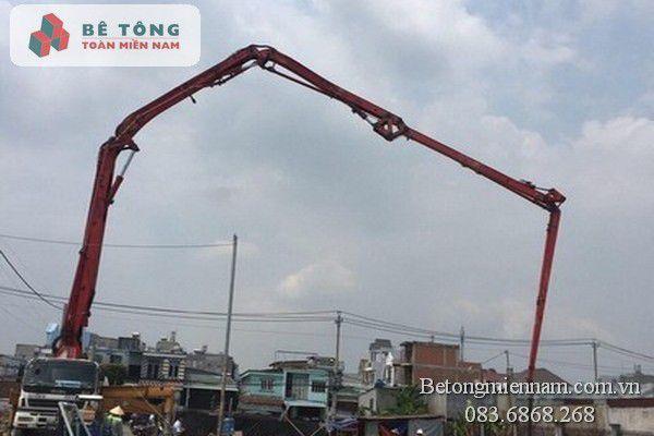 Đổ bê tông tươi ở Long Khánh
