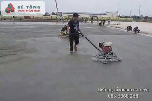 Quy trình thi công xoa nền bê tông