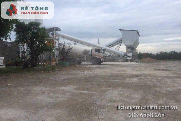 Trạm trộn bê tông tươi tại Đồng Nai