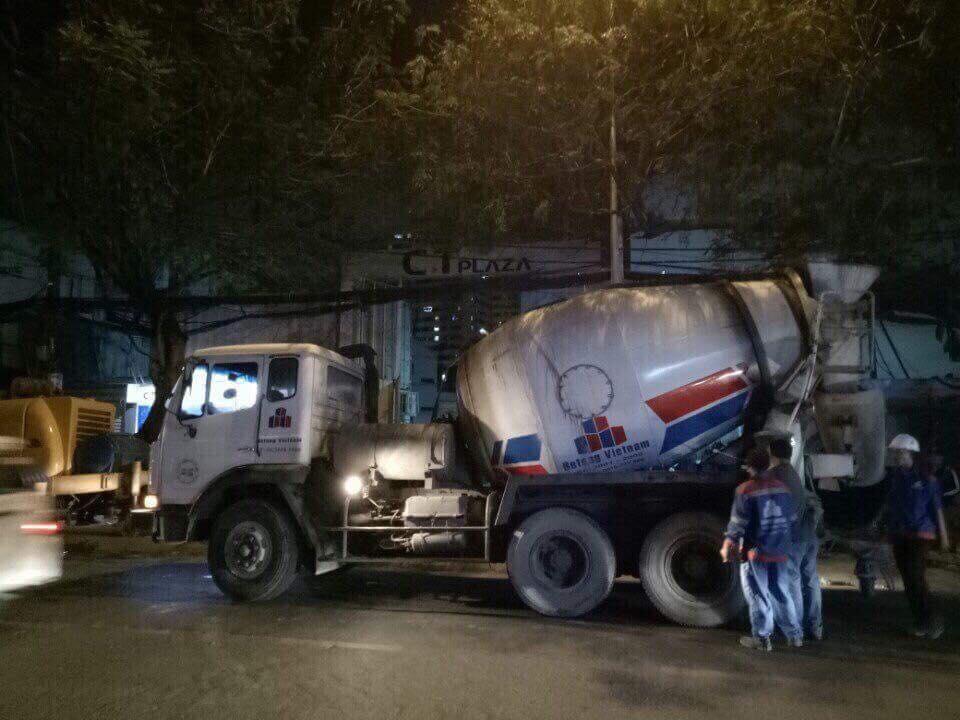 Xe bê tông huyện Trảng Bom Đồng Nai