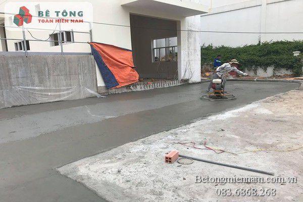 Xoa nền bê tông giá rẻ